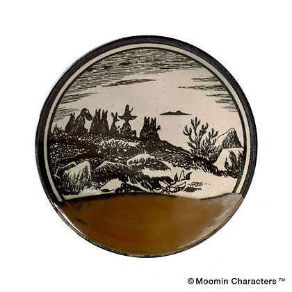 MOOMIN × amabro - Mashiko Pottery - Glaze - / Kaki