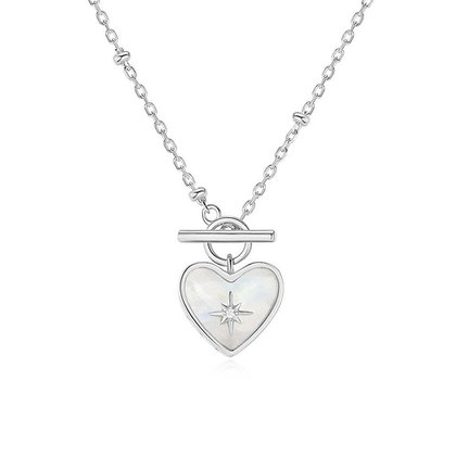 Love By The Moon - Lover Silver Necklace (Moonstone)