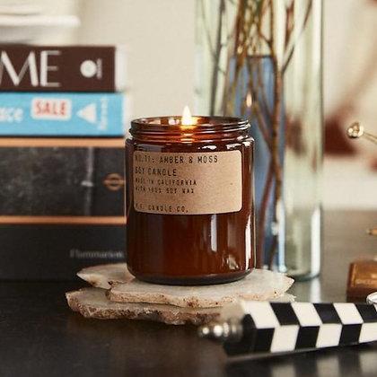 P.F. Candle Co. - Amber & Moss (7.2 oz)