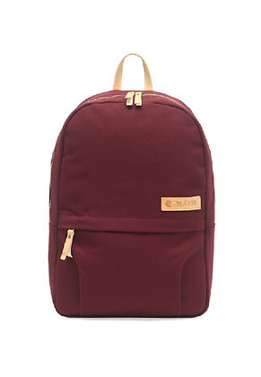 The Earth - CANVAS DAYPACK-BURGUNDY