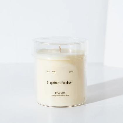 BECANDLE - 大豆蠟燭 Grapefruit bamboo 200 ml