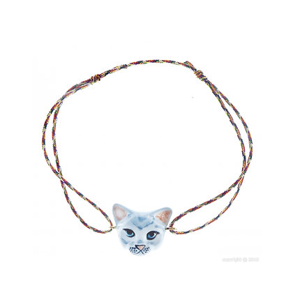 Nach - Grey Cat multicolor charm's