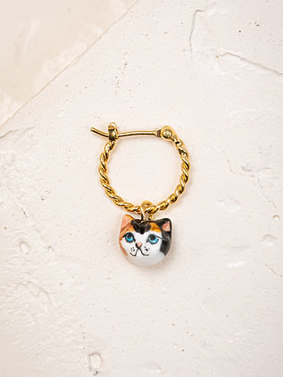 NACH BIJOUX - CAT MINI HOOP EARRING