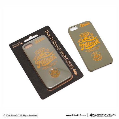 FCL OUTDOOR LAB iPhone Case – 5/5S 鹿角山形LOGO手機保護殼