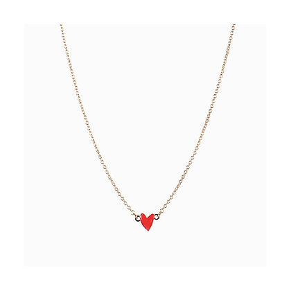Titlee - Grant Necklace - Red