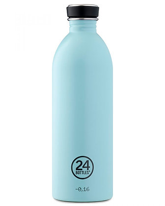 24 BOTTLES - Urban Bottles 1000ml - Cloud Blue