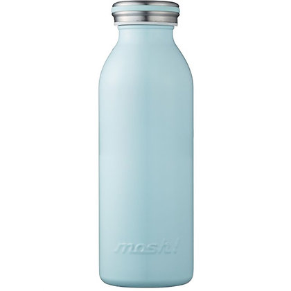 MOSH - Stainless Steel Bottle 450ml - Turquoise