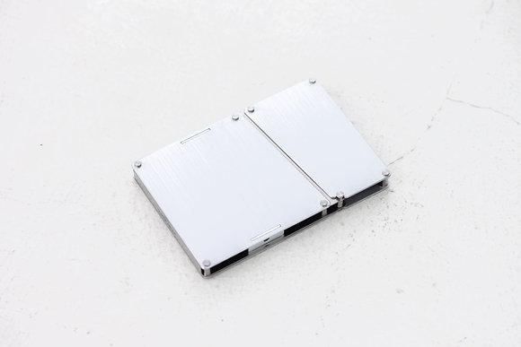 Playback - Aluminium Card Case - Silver