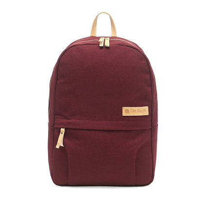 Canvas Daypack - Burgundy