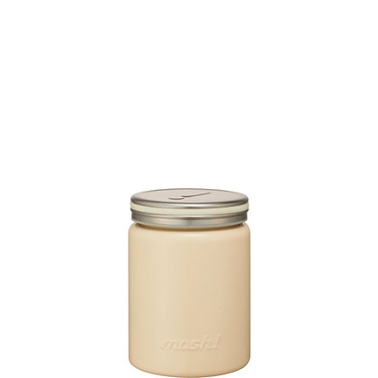 MOSH -  Stainless Steel Thermo Food Pot 420ml - Ivory