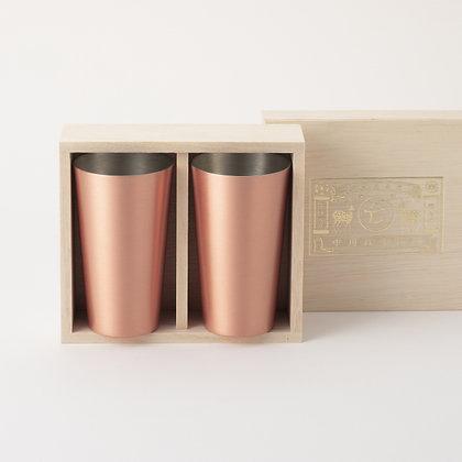 冷酒用純銅對杯 - 中川政七商店