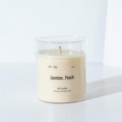 BECANDLE - 大豆蠟燭 Jasmine Peach 200 ml