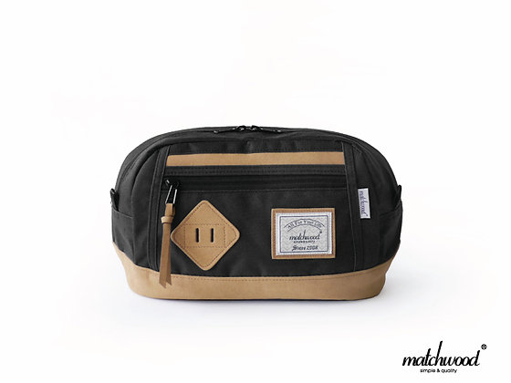 【Matchwood】Density Waist Bag腰包-黑