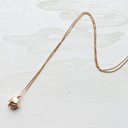 ShAnho - Rose gold Stone Necklace