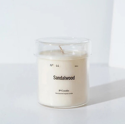 BECANDLE - 大豆蠟燭 Sandalwood 200ml