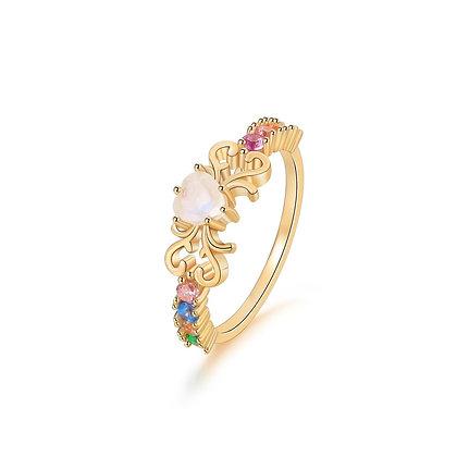 DREAMNICKER - Rainbow Heart Ring