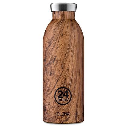 24 BOTTLES - Clima Bottles 500ml - Sequoia Wood