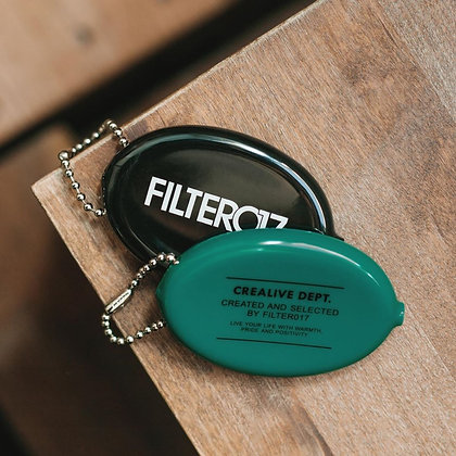 Filter017 Rubber Coin Purse 美製橡膠零錢包