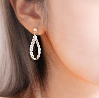 Adam Minusculave - JE SUIS PREST COLLECTION | SILVER DROPLET EARRINGS