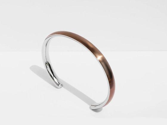 MADEGREY - Bold Cuff Bracelet | Bronze