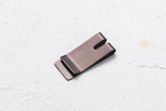 Playback - Dyed Brass Money Clip