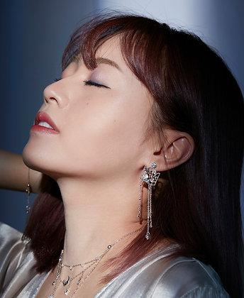 Love By The Moon - Moonstone Silver Earrings - Moon Shower