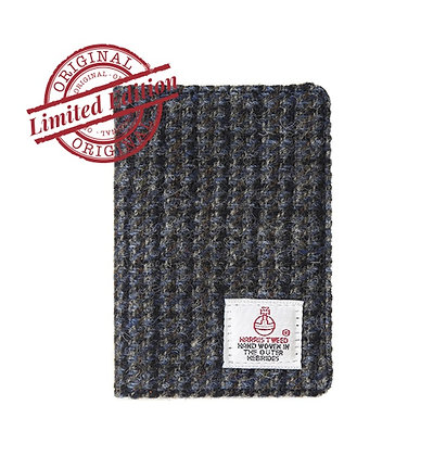 HARRIS TWEED CARD WALLET - GREY