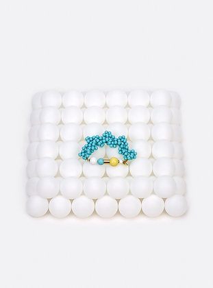 ZO-EE - ICE BLUE BLOWING UP BRACELET