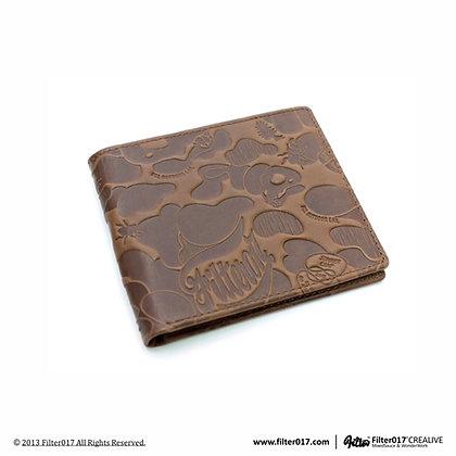 Land Of Lost Camo Wallet Vintage (Dark Brown)