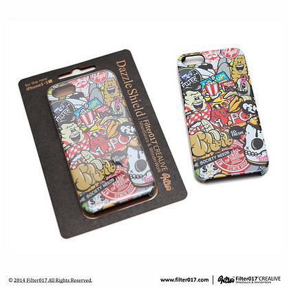 Colorful Pattern Glossy-Surface iPhone Case - 5/5S