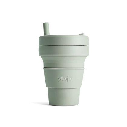 Stojo - biggie 16 oz cup - Sage