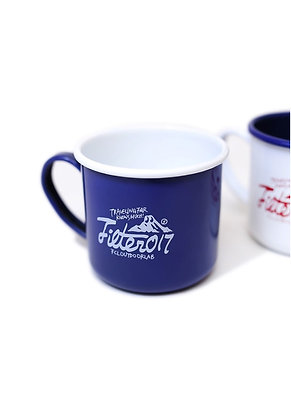 Filter017 OUTDOOR LAB Enamel Cup - Blue