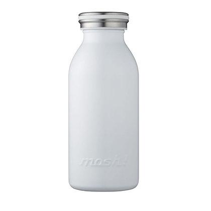 MOSH - Stainless Steel Bottle 350ml - White