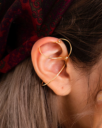 Adam Minusculave - ARTISAN JEWELLERY | WEAVING AVE SINGLE EAR CUFF