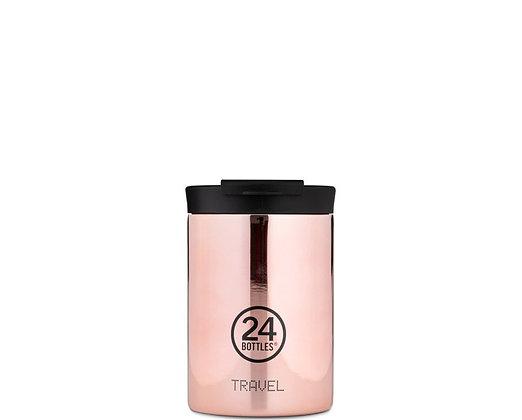 24BOTTLES - Travel Tumbler 350ml - Rose Gold