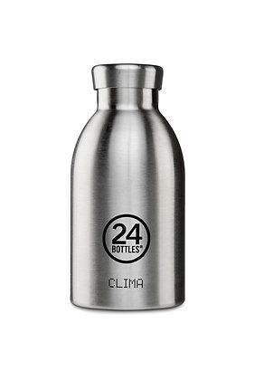24 BOTTLES - Clima Bottles 330ml - Steel