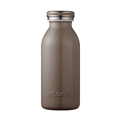 MOSH - Stainless Steel Bottle 350ml - Brown