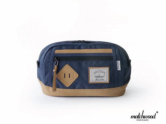 【Matchwood】Density Waist Bag腰包-海軍藍
