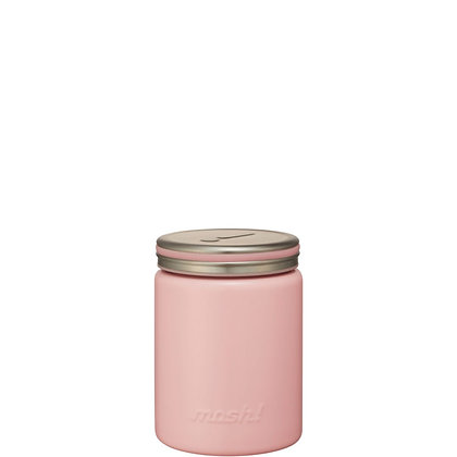 MOSH -  Stainless Steel Thermo Food Pot 420ml - Peach