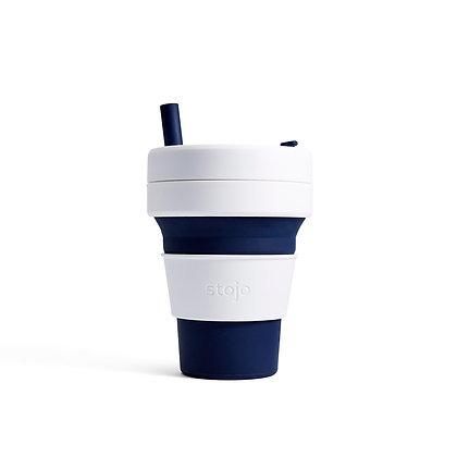 Stojo - biggie 16 oz cup - Indigo
