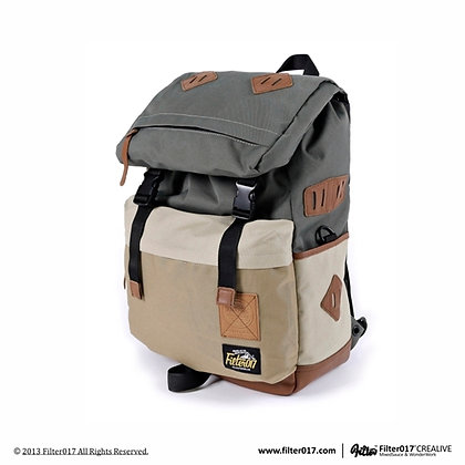 FORTITUDE OUTDOOR BACKPACK 2.0 (Khaki collision)