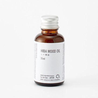 Cul de Sac JAPON - HIBA WOOD OIL 青森絲柏 ヒバ精油 35ml