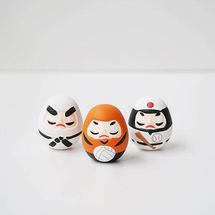 運動版陶土達摩(附吉簽) - 中川政七商店