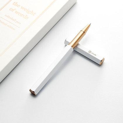 YSTUDIO - CHRISTMAS - White Rollerball Pen