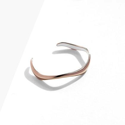 MADEGREY - Flow Cuff Bracelet | Bronze