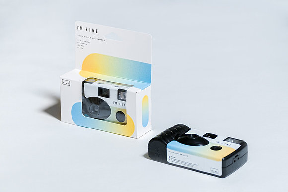 NINM Lab - I'M Fine 一次性菲林相機 夏日版本 SUMMER PLANET