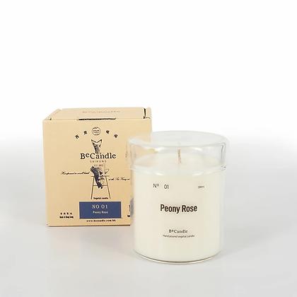 BECANDLE - 大豆蠟燭 Peony Rose 200 ml