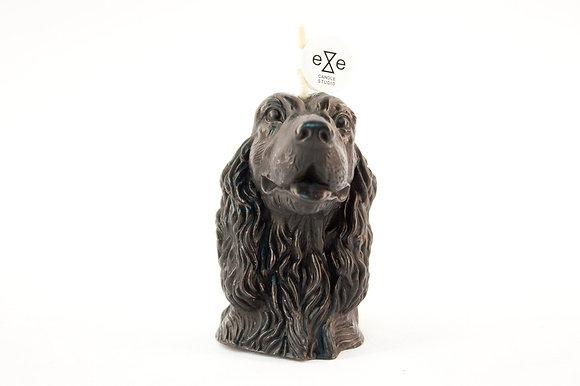 EYECANDLE - 黑色可卡犬造型蠟燭 COCKER DOG CANDLE