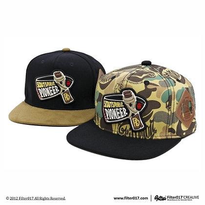 PIONEER SNAPBACK CAP (Land of lost camo)