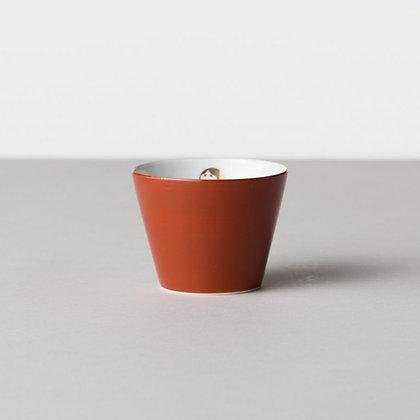 MARUHIRO INC. - 蕎麥豬口杯 阿龜面具女 紅 OKA Okame (Red)